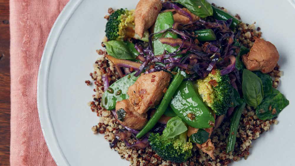 Jesinta Campbell's chicken stir-fry