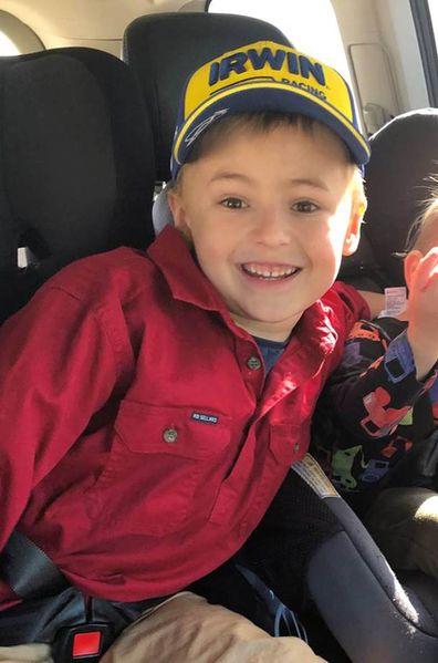 Joe, 7, stroke survivor