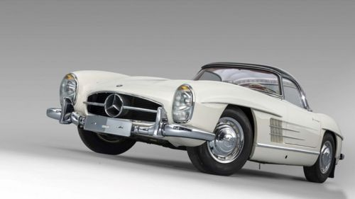 This spectacular Merc is the most expensive 300SL sold. Picture: Artcurial