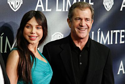 <p>Age gap: 14 years</p><p>Married a whole year.  Mel and Oksana did not work out for the obvious reason.</p><p>Mel Gibson's involved.</p>