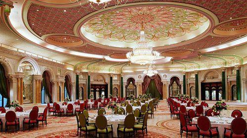 One of the dining rooms at the Ritz-Carlton in Riyadh. (Ritz-Carlton)