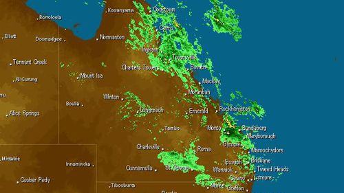 Hundreds of millimetres of rain has falled already in the past few days. (Weatherzone)