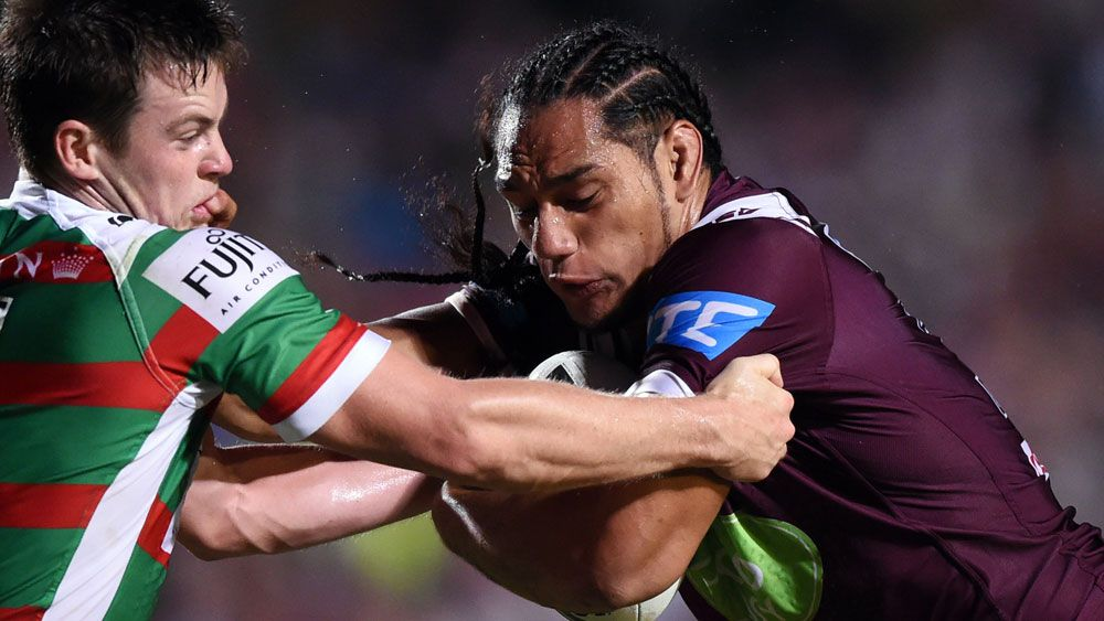 I'm no NRL grub: Manly's Taupau