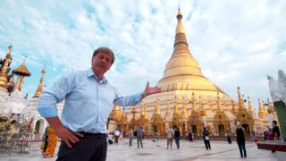 Ray Martin winds up journey through mystical Myanmar