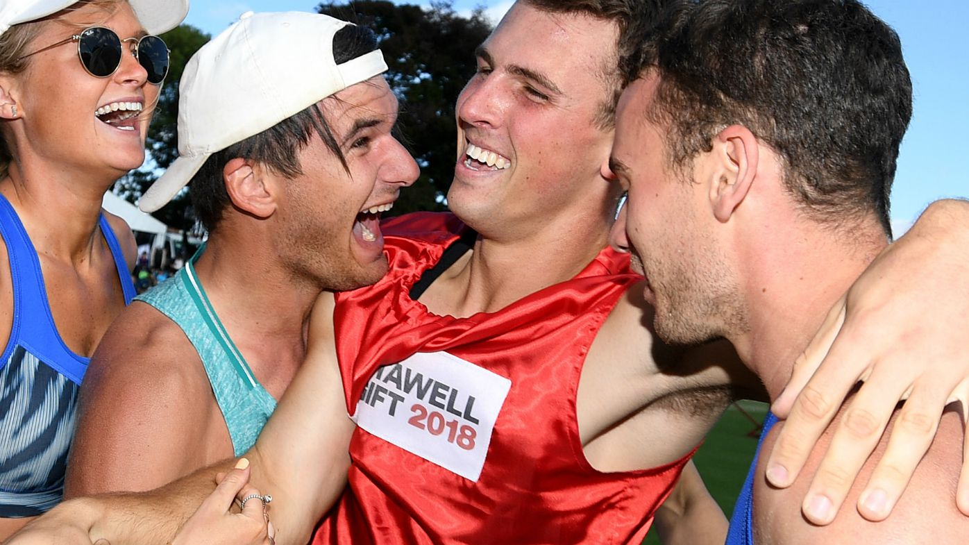 Despard delivers with Stawell Gift win