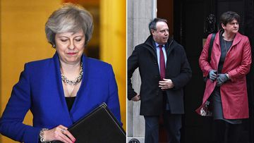 British Prime Minister Theresa May was consulting opposition parties and other lawmakers Thursday in a battle to put Brexit back on track after surviving a no-confidence vote.