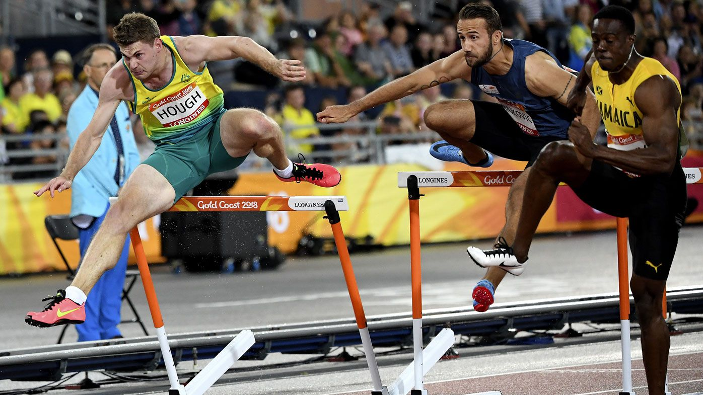 Australia's Nick Hough clobbers his way to bronze medal in men's 110m hurdles