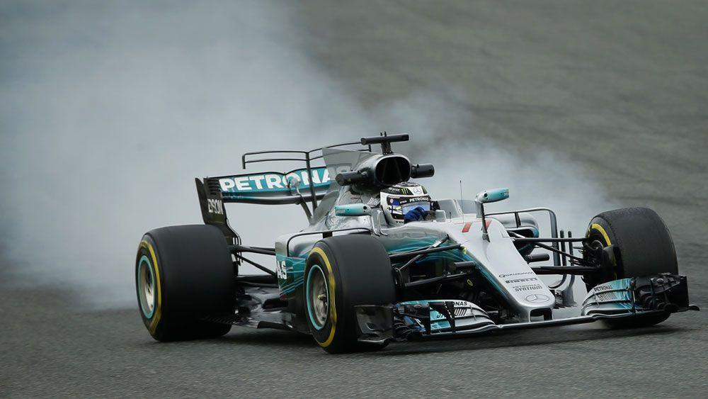 Valtteri Bottas was quickest in F1 testing. (AAP)
