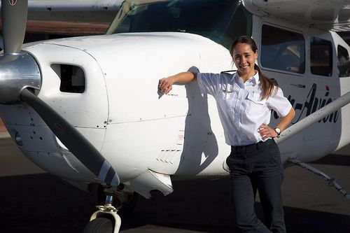 The 30-year-old was proud of her hard work, and loved her job as a pilot.