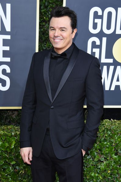 Seth MacFarlane attends the 77th Annual Golden Globe Awards at The Beverly Hilton Hotel on January 05, 2020.