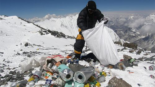Mountaineers call on government to crack down on Mt Everest's human waste problem
