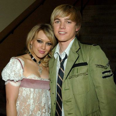 Jesse McCartney and Hilary Duff in 2005.