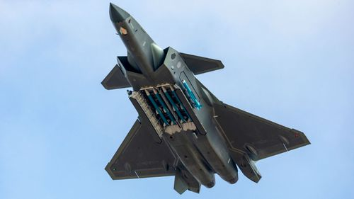 The Chinese J-20 stealth fighter is one weapon threatening US air power.