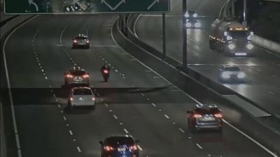 'Speed racing' motorcyclist's last moments caught on camera