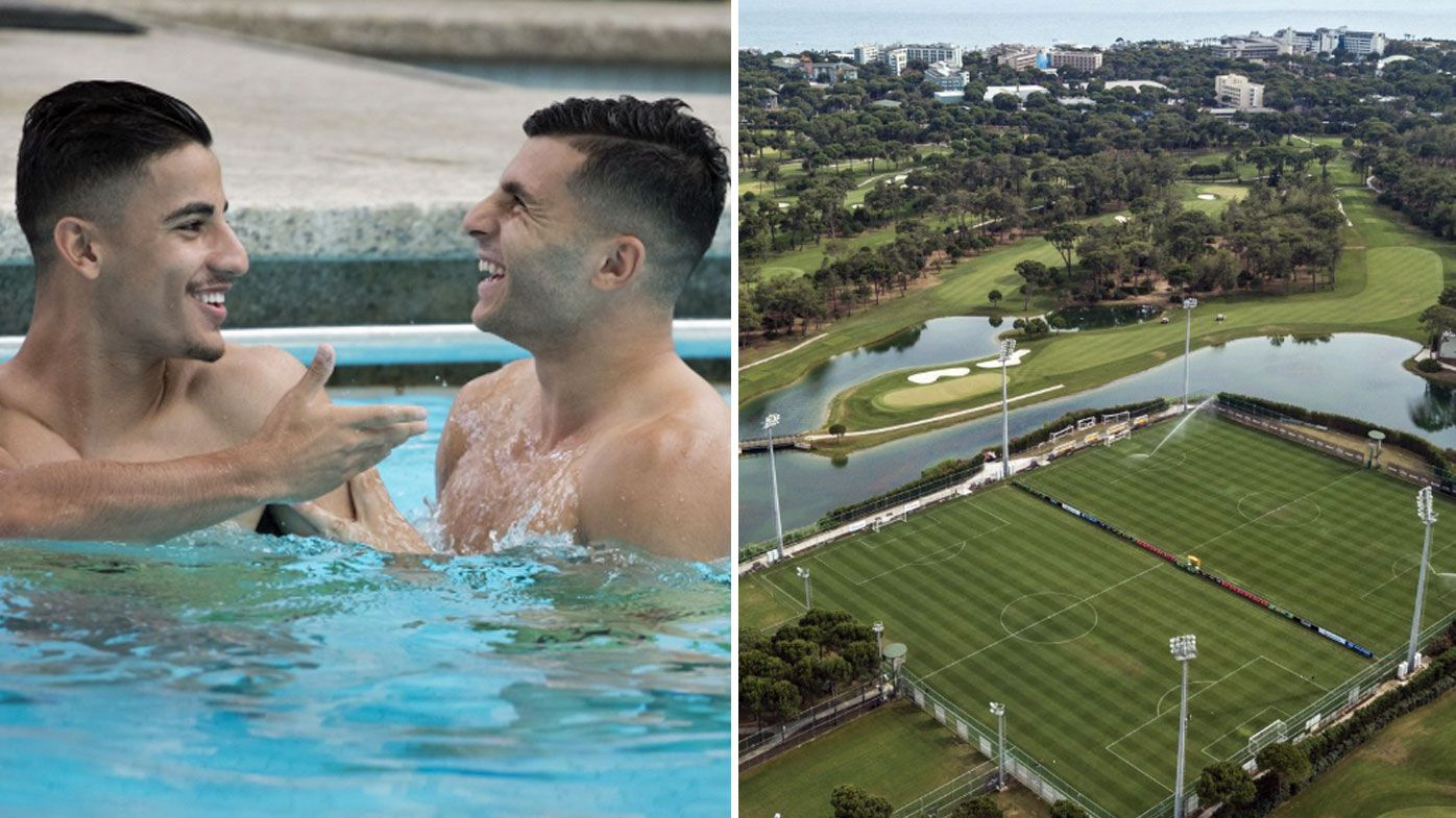 Socceroos begin World Cup preparations with camp at plush Turkey resort