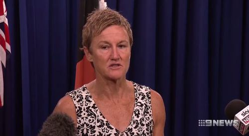 Northern Territory Children's Commission Colleen Gwynne said alcohol restrictions have had a positive effect. Picture: 9NEWS