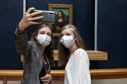 The Louvre Museum reopens to the public