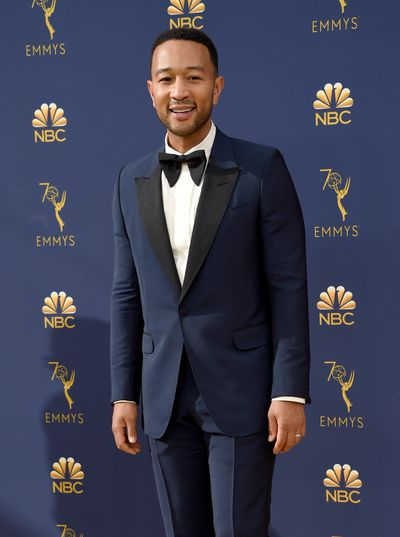John Legend at the 70th Annual Emmy Awards