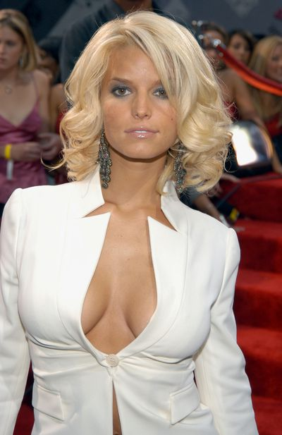 Jessica Simpson at the 2003 MTV Video Music Awards in New York, August, 2003