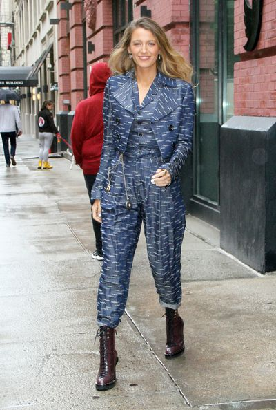 Blake Lively in Wolk Morais, New York, September 10, 2018