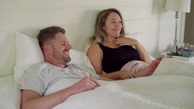 Melissa and Bryce consummate their marriage during their first night together