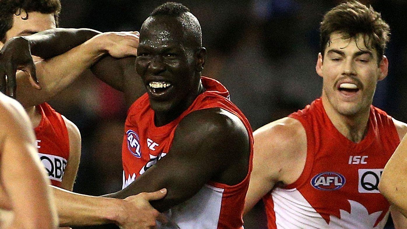 Last-gasp Aliir goal hands Sydney dramatic win over North Melbourne
