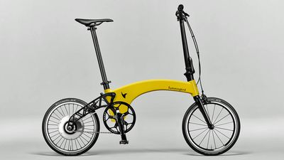 British engineering firm launches the world's lightest folding e-bike