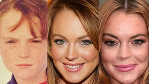 The evolution of Lindsay Lohan's face