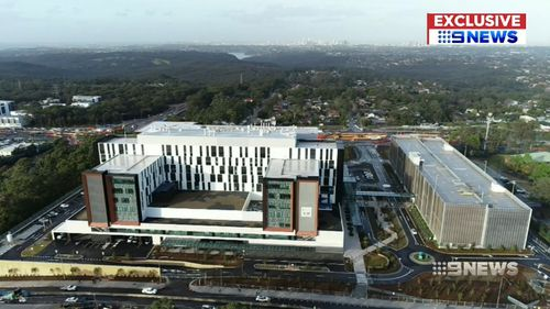 The world-class hospital will open on October 30. Picture: 9NEWS