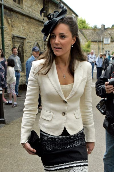In June 2005, Kate attended the wedding of Hugh Van Cutsem Jr and Rose Astor. Back then, Kate was dating Prince William who was close friends with Van Custem Jr.
