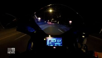 Motorcyclist clocks 263km/h before running into back of a ute in South Australia
