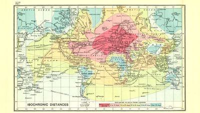 1914 map reveals epic journey from London to Australia - 9Pickle