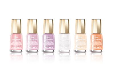 "<p>Skip bold coloured nail lacquers that will show chips, cracks or general wear and tear and instead, opt for soft, sheer shades that look freshly-applied even when you've been wearing them for weeks.</p> <p><a href=""https://www.mavala.com.au/mini-collections/delicate"" target=""_blank"">Mavala Switzerland Delicate Collection, $8.50.</a></p>"