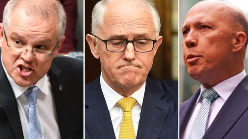 Leadership crisis: Malcolm Turnbull is likely to face a leadership challenge from Peter Dutton and Scott Morrison. (AAP)