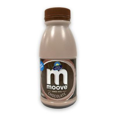 <strong>300ml Moove chocolate milk (29.7 grams of sugar)</strong>