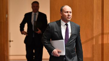 Treasurer Josh Frydenberg and Minister for Finance Mathias Cormann have given an update on Australia's dire budget situation.