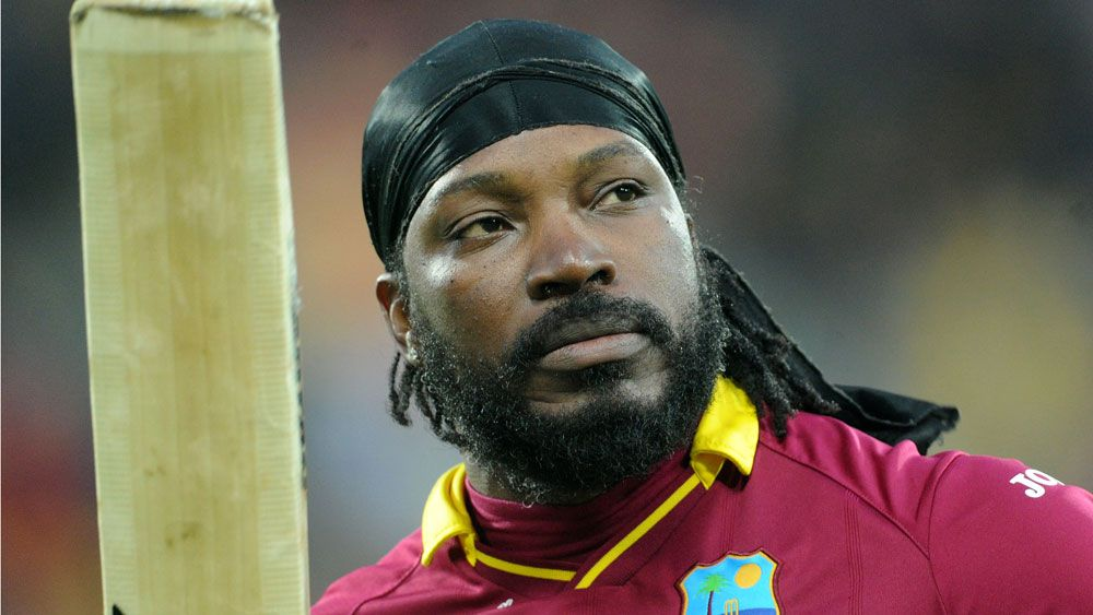 Chris Gayle. (AAP)