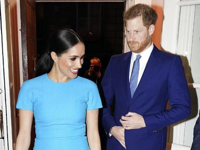 The Duke and Duchess of Sussex attend the Endeavour Fund Awards in London in March 2020 and Liza Minnelli friendship.