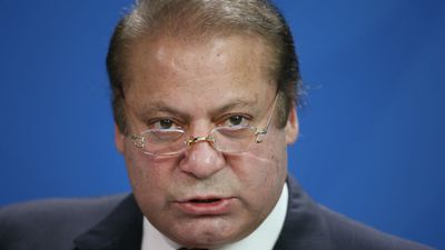 "Pakistani Prime Minister Nawaz Sharif has declared the country's armed forces ""will continue until the terrorism is rooted out from our land"". (AAP)"