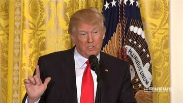 VIDEO: President Trump attacks media in extraordinary news conference