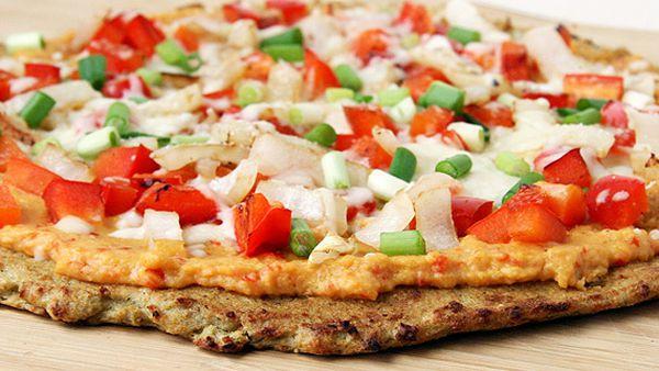 Atkins cauliflower crust pizza