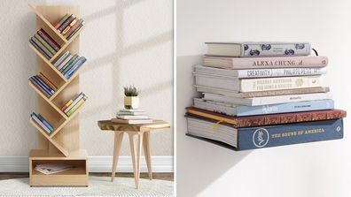 Inspiration for sorting out your books and how to store them