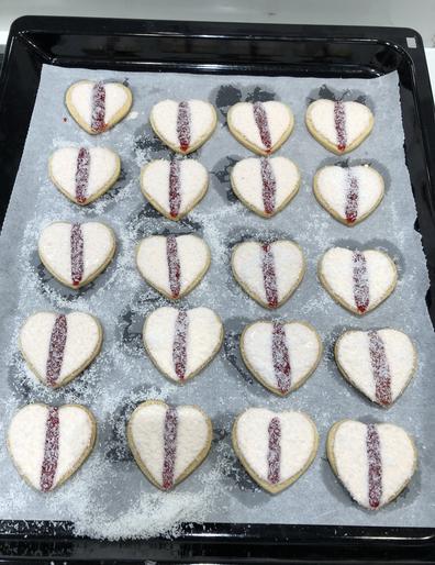 Arnott's homemade Ice Vovo biscuits