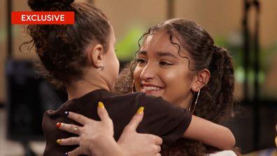 Lara's sister's surprise mentoring visit