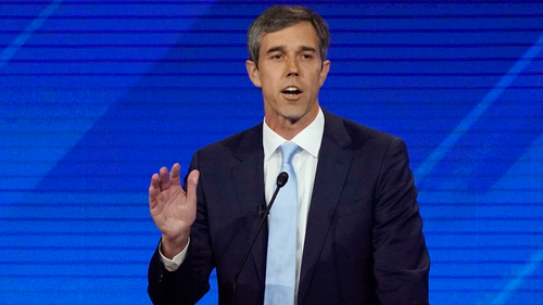 Beto O'Rourke enjoyed the support of his opponents over his gun stance.
