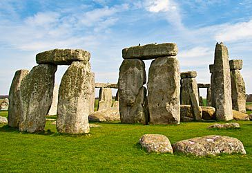 Daily Quiz: How many metres tall are Stonehenge's standing stones?