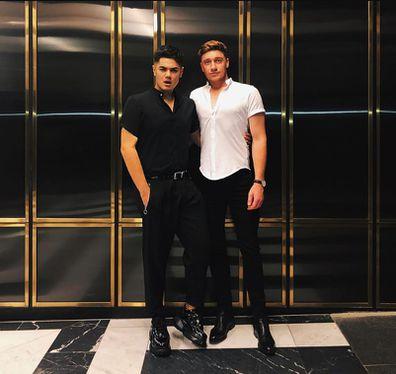 Sheldon Riley and boyfriend Zachery Tomlinson