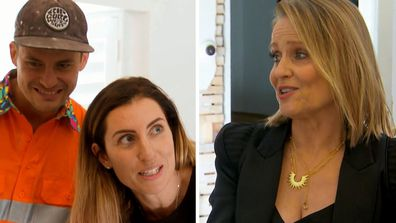 Shaynna Blaze clashes with Luke and Jasmin over copying on The Block 2020