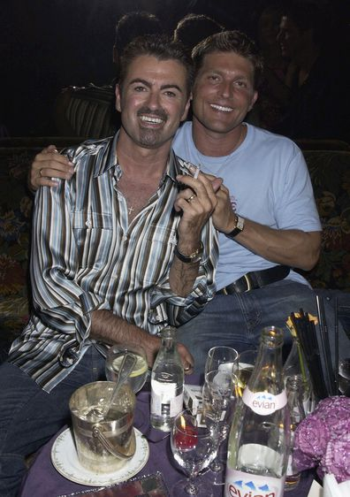 George Michael and Kenny Goss