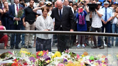Governor General Sir Peter Cosgrove and wife Lynne also paid tribute to the victims. (AAP)